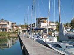 Silver Yacht kikötő Balatonfüred Balatonfüred
