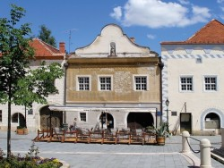 Sgraffitós-ház - Kőszeg