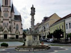 Szentháromság-szobor (Pestis-szobor) - Kőszeg Kőszeg