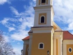 Római katolikus templom - Balatonkeresztúr Balatonkeresztúr