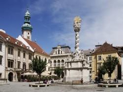 Soproni Szentháromság szobor Sopron